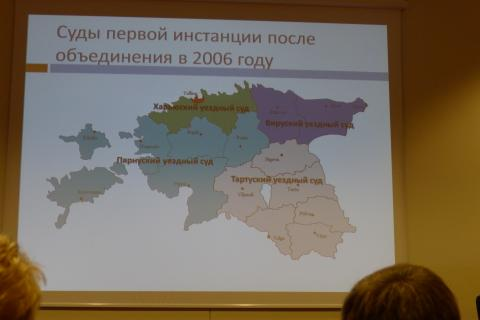 Teismai Estijoje po reformos