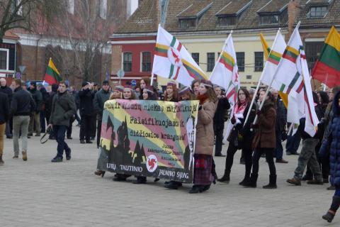 Eitynės Kaune 2013-02-16